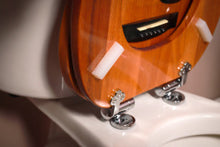 Load image into Gallery viewer, Jammin' Johns Guitarlet Toilet Seat