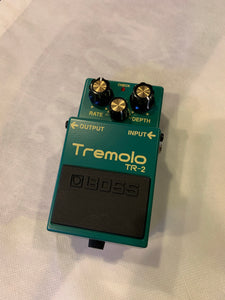 BOSS TR-2 Tremolo effects pedal
