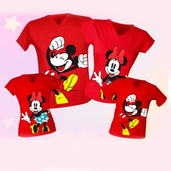 Camiseta Familia Mickey Mouse