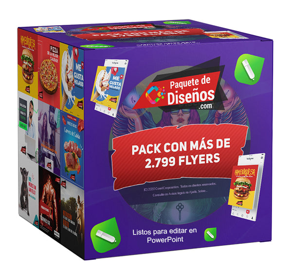Pack de Flayers Editables en PowerPoint