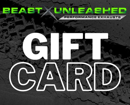 Beast Unleashed Exhausts Gift Card