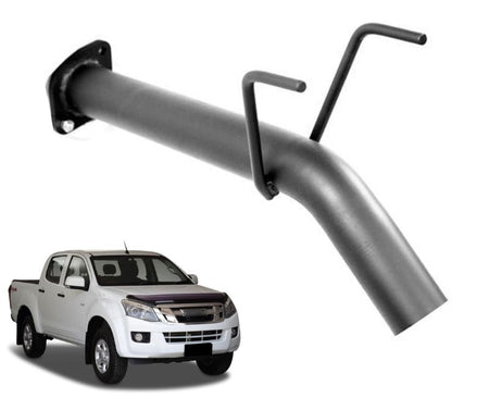 Eliminator Pipe for Isuzu DMAX 3.0lt Turbo Diesel (2012 - 2019 Models) – Beast Unleashed Performance Exhausts