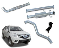 "3"" Stainless Steel Turbo-Back Exhaust System for 2.8lt Foton Tunland Ute (2014 - 2019 Models) – Beast Unleashed Performance Exhausts"