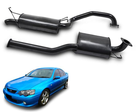 "2.5"" Performance Exhaust System for 6 Cylinder BA, BF Ford Falcon Sedan – Beast Unleashed Performance Exhausts"