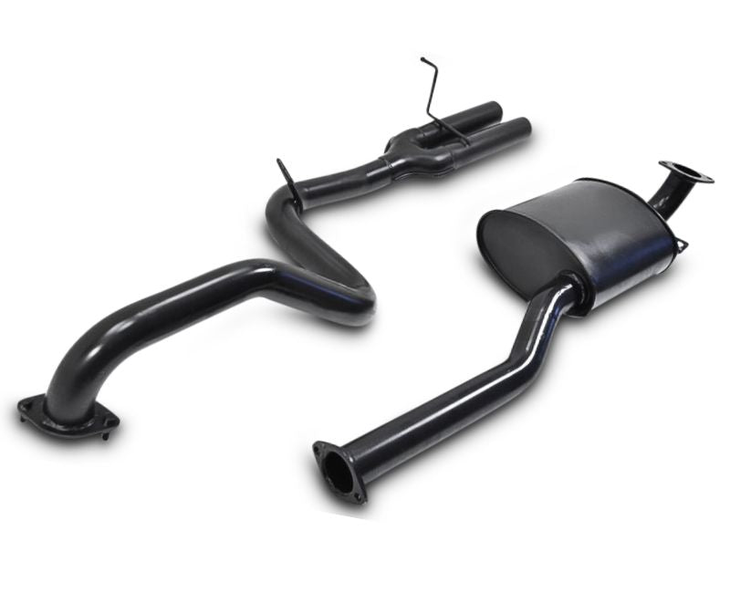 "2.5"" Performance Exhaust System for BA, BF XR6 Ford Falcon Sedan with Twin Outlet (Racing System) – Beast Unleashed Performance Exhausts"