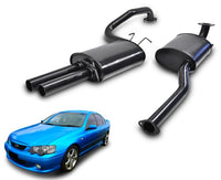 "2.5"" Performance Exhaust System for BA, BF XR6 Ford Falcon Sedan with Twin Outlet – Beast Unleashed Performance Exhausts"