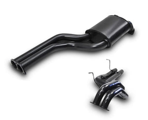 "2.5"" Performance Exhaust System for BA XR6T, XR8 Ford Falcon Sedan (Racing System) – Beast Unleashed Performance Exhausts"