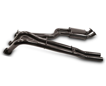 "2.5"" Performance Exhaust System for BA XR6T, XR8 Ford Falcon Ute (Racing System) – Beast Unleashed Performance Exhausts"