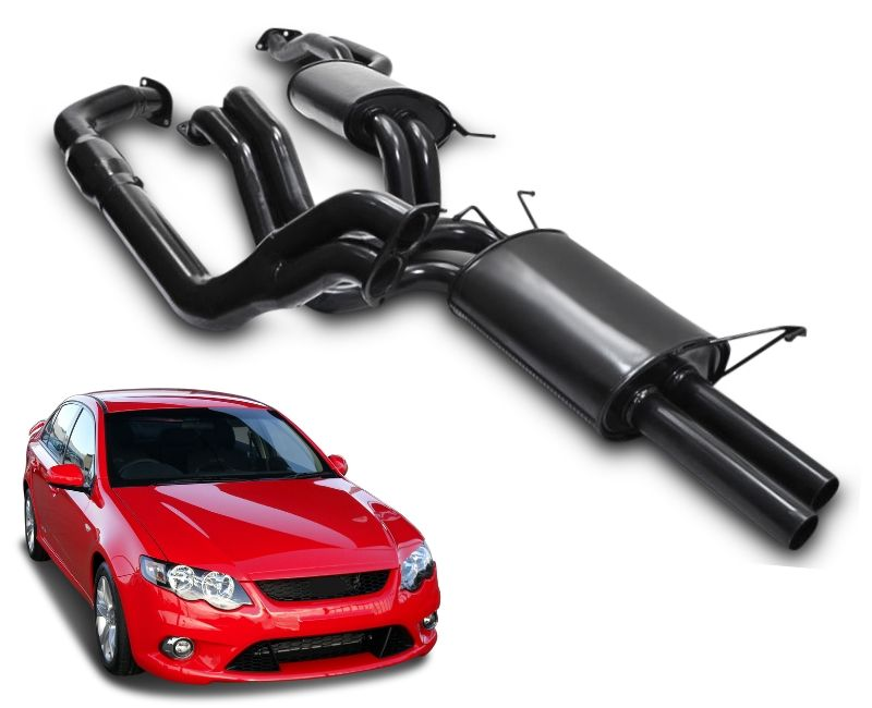 "2.5"" Turbo-Back Performance Exhaust System for FG XR6T Ford Falcon Sedan – Beast Unleashed Performance Exhausts"