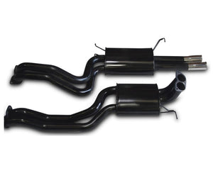 "2.5"" Performance Exhaust System for 6 & 8 Cylinder FG Ford Falcon Sedan XR6T, XR8 with Twin Tips – Beast Unleashed Performance Exhausts"