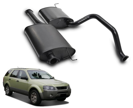 "2.5"" Performance Exhaust System for Ford Territory SX, SY, TX, TS, Ghia (AWD & 2WD) – Beast Unleashed Performance Exhausts"