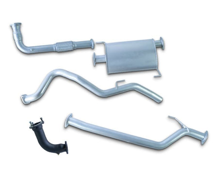 "2.5"" Stainless Steel Turbo-Back Exhaust System for 2.0lt Great Wall V200 Ute (10/2012 - 2019 Models) – Beast Unleashed Performance Exhausts"