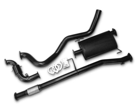 "3"" Turbo-Back Stainless Steel Exhaust System for 2.8lt Turbo Diesel Holden Colorado RG (10/2012 - 02/2017 Models) – Beast Unleashed Performance Exhausts"