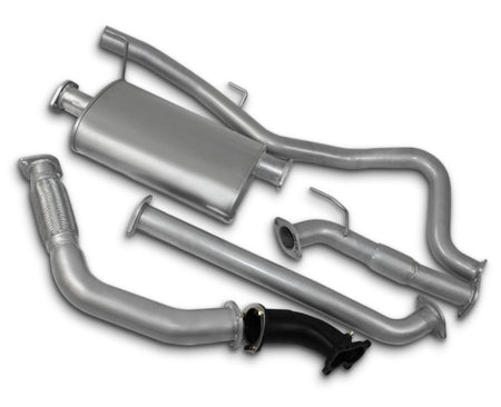 "3"" Turbo-Back Stainless Steel Exhaust System for 3.0lt Turbo Diesel Direct Injection Holden Rodeo RA Dual Cab (11/2003 - 2007 Models) – Beast Unleashed Performance Exhausts"