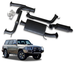 "3"" Cat-Back Exhaust System for 5.6lt Petrol Nissan Patrol Wagon Y62 (11/2012 - 2019 Models) – Beast Unleashed Performance Exhausts"