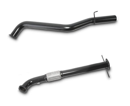 "3"" Turbo-Back Stainless Steel Exhaust System for 3.0lt Naturally Aspirated DTS Turbo Upgrade Toyota Hilux LN167, LN172 (1997 - 02/2005 Models) – Beast Unleashed Performance Exhausts"
