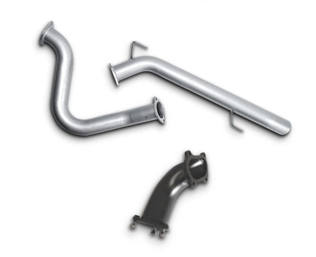 "3"" Turbo-Back Stainless Steel Exhaust System for 4.2lt Turbo Diesel Toyota Landcruiser 100 Series Wagon (1998 - 2007 Models) – Beast Unleashed Performance Exhausts"
