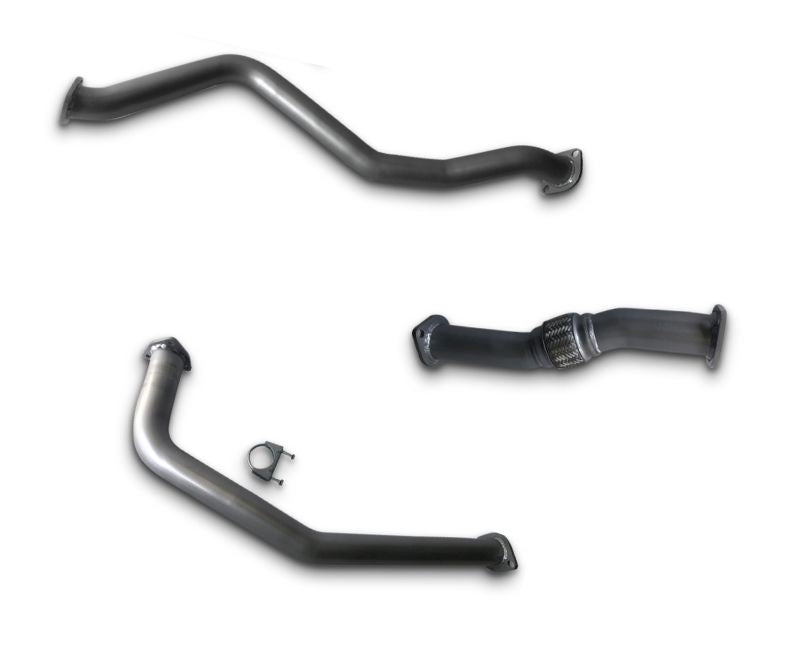"2.5"" Stainless Steel Exhaust System for 4.0lt Non-Turbo Toyota Landcruiser 60 Series (1980 - 1990 Models) – Beast Unleashed Performance Exhausts"