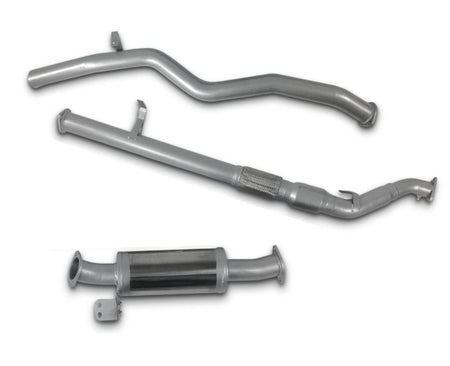 "3"" Turbo-Back Exhaust System for 4.5lt V8 Toyota Landcruiser 76 Series Wagon (01/2012 - 01/2016 Models) – Beast Unleashed Performance Exhausts"