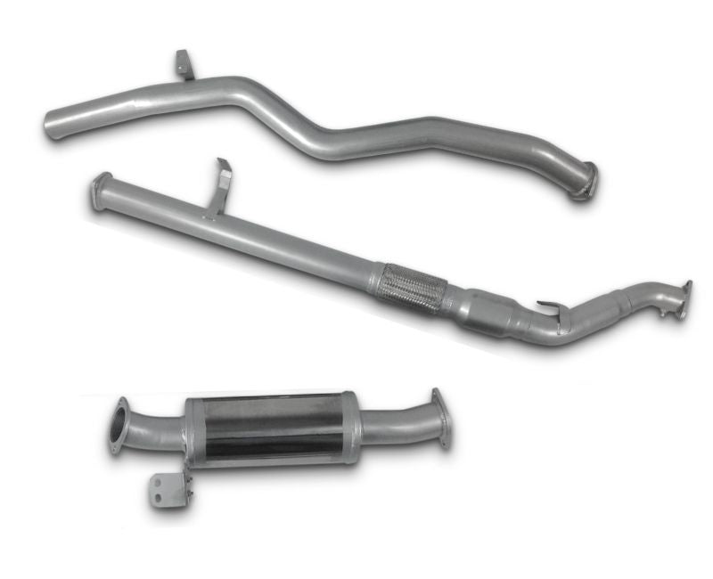 "3"" Turbo-Back Stainless Steel Exhaust System for 4.5lt V8 Toyota Landcruiser 76 Series Wagon (01/2012 - 01/2016 Models) – Beast Unleashed Performance Exhausts"