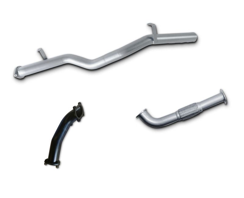 "3"" Turbo-Back Stainless Steel Exhaust System for 4.2lt Turbo Diesel Toyota Landcruiser 79 Series Single Cab Ute (2002 - 2007 Models) – Beast Unleashed Performance Exhausts"