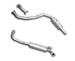 "2.5"" Exhaust System for 4.5lt Petrol Toyota Landcruiser 80 Series Wagon FZJ80 (1990 - 1998 Models) – Beast Unleashed Performance Exhausts"