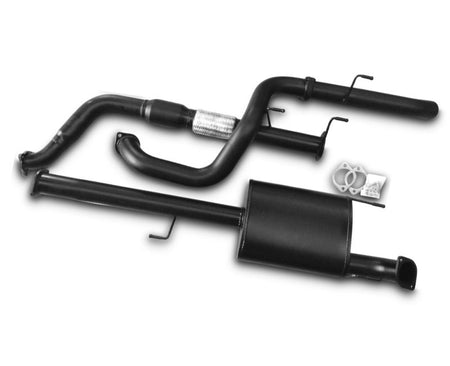 "3"" Turbo-Back Exhaust System for 3.0lt Turbo Diesel Toyota Prado 120 Series (10/2006 Onwards Models) – Beast Unleashed Performance Exhausts"