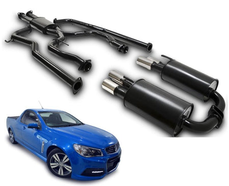 "2.25"" Twin Performance Exhaust System for 6 Cylinder VE, VF Holden Commodore Ute – Beast Unleashed Performance Exhausts"