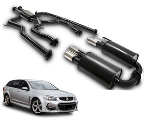 "2.5"" Twin Performance Exhaust System for 6 & 8 Cylinder VE, VF Holden Commodore Sedan & Wagon – Beast Unleashed Performance Exhausts"
