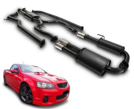 "2.5"" Twin Performance Exhaust System for 6 & 8 Cylinder VE, VF Holden Commodore Ute – Beast Unleashed Performance Exhausts"