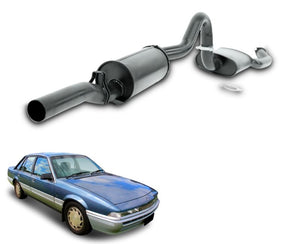 "2.5"" Performance Exhaust System for 6 & 8 Cylinder VL Holden Commodore Sedan – Beast Unleashed Performance Exhausts"