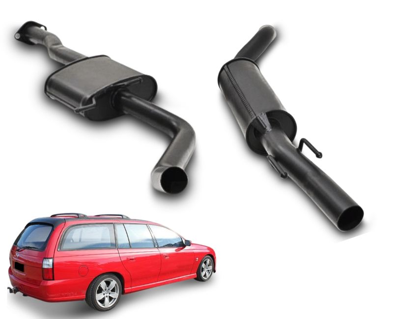 "2.5"" Performance Exhaust System for 6 Cylinder VT, VX, VY Holden Commodore Ute & Wagon – Beast Unleashed Performance Exhausts"