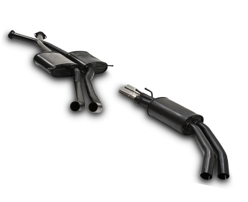 "2.5"" Twin Performance Exhaust System for 5.7lt 8 Cylinder VT Holden Commodore Sedan (Oval Rear Muffler) – Beast Unleashed Performance Exhausts"