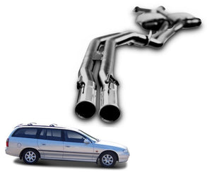 "2.5"" Twin Performance Exhaust System for 5.7lt 8 Cylinder VT Holden Commodore Ute & Wagon (Racing System) – Beast Unleashed Performance Exhausts"