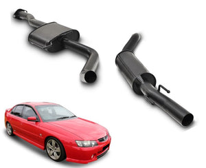"2.5"" Performance Exhaust System for 6 Cylinder VY Holden Commodore Series 3 Sedan – Beast Unleashed Performance Exhausts"