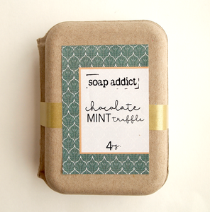 Chocolate Mint Truffle Handmade Soap