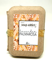 Load image into Gallery viewer, Lavender Palmarosa Handmade Soap