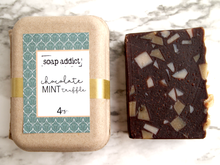 Load image into Gallery viewer, Chocolate Mint Truffle Handmade Soap