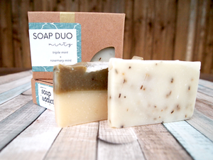 Minty Soap Duo