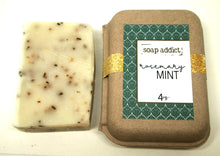 Load image into Gallery viewer, Rosemary Mint Handmade Soap