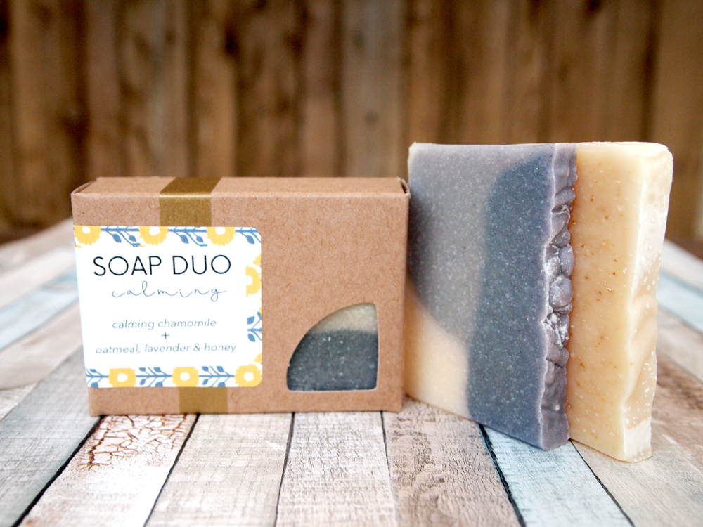 Calming Soap Duo
