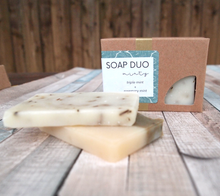 Load image into Gallery viewer, Minty Soap Duo