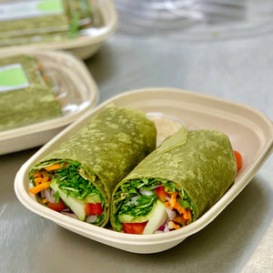 Vegetarian Hummus Wrap - Friday Only