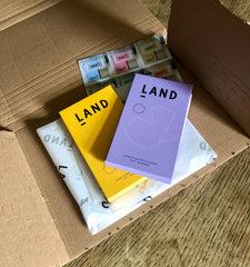 Land Chocolate made in East London