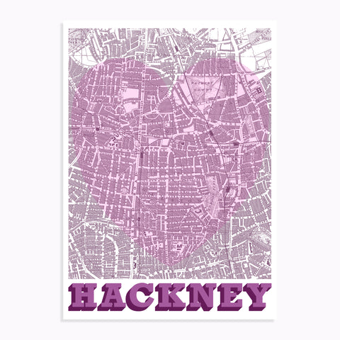 Hackney screenprint