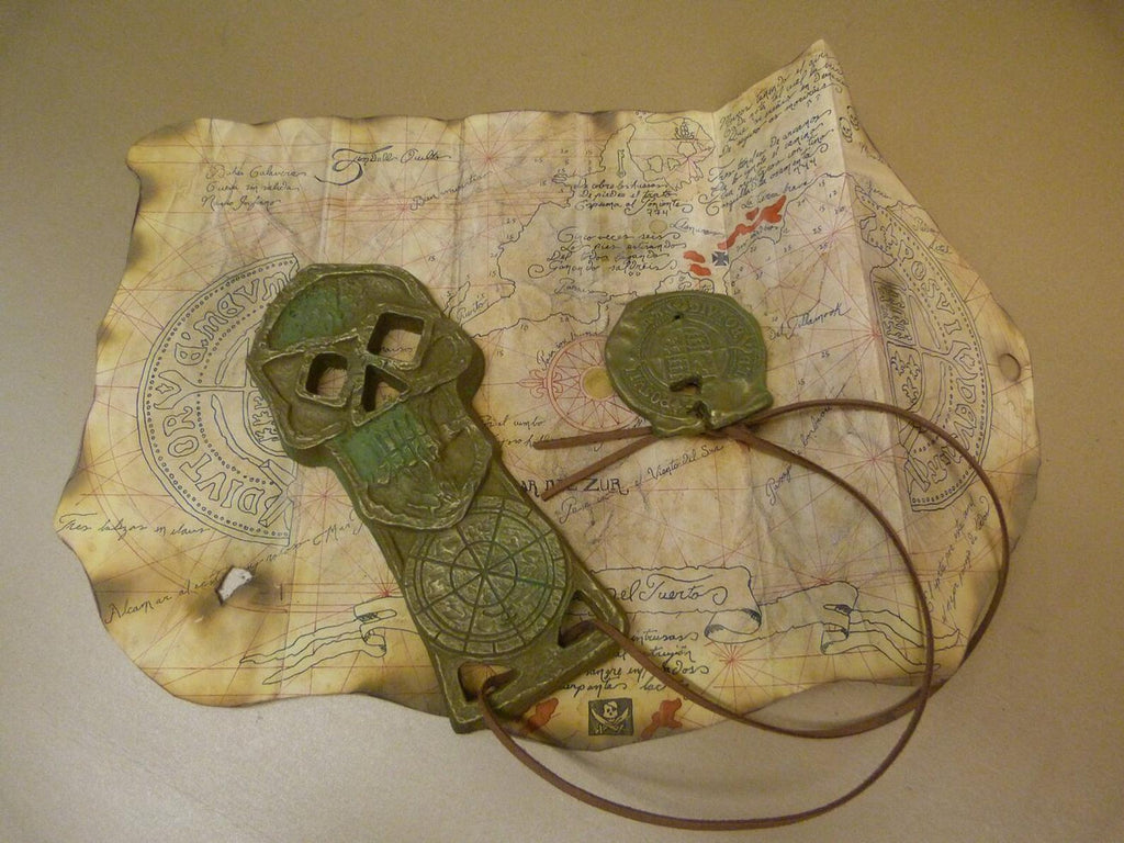 Treasure map from the Goonies