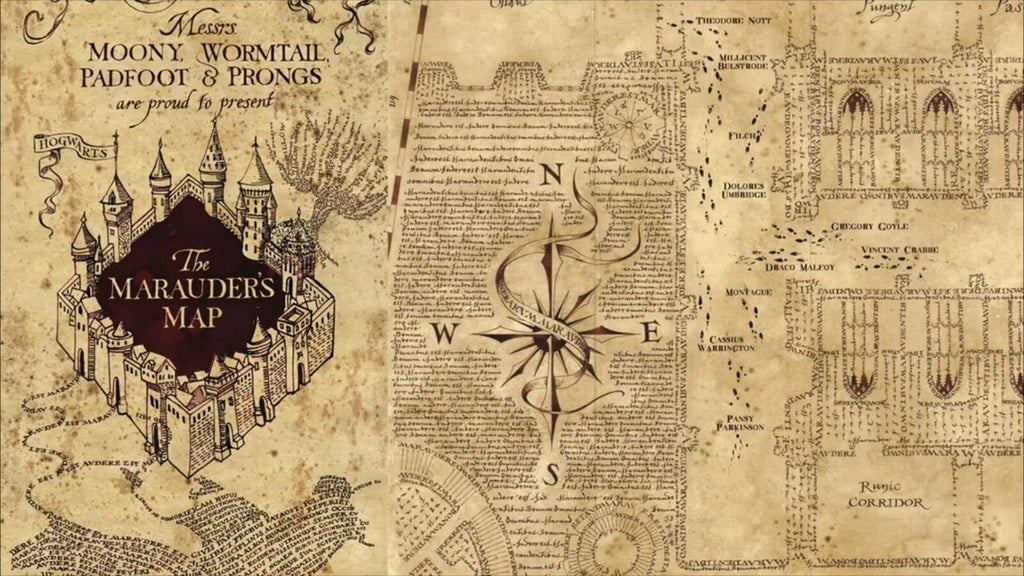 THE MARAUDER'S MAP Harry Potter