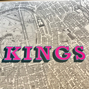 Kings Cross (Hot Pink)