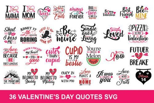 Valentine Svg Bundle 895018