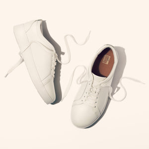 Fit Flop Rally Urban White Leather Sneaker